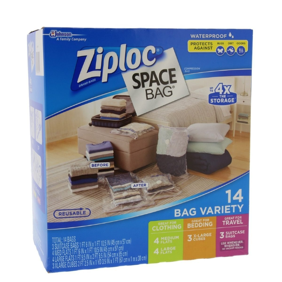 5 Best Space Saver Bags