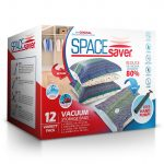SpaceSaver Premium Vacuum Storage Bags Variety Pack 80% More Storage than Other Brands! Free Hand-Pump for Travel!