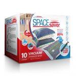 SpaceSaver Premium Space Saver Vacuum Storage Bags, (40 x 30 Inch) 10 x JUMBO SIZE BAGS