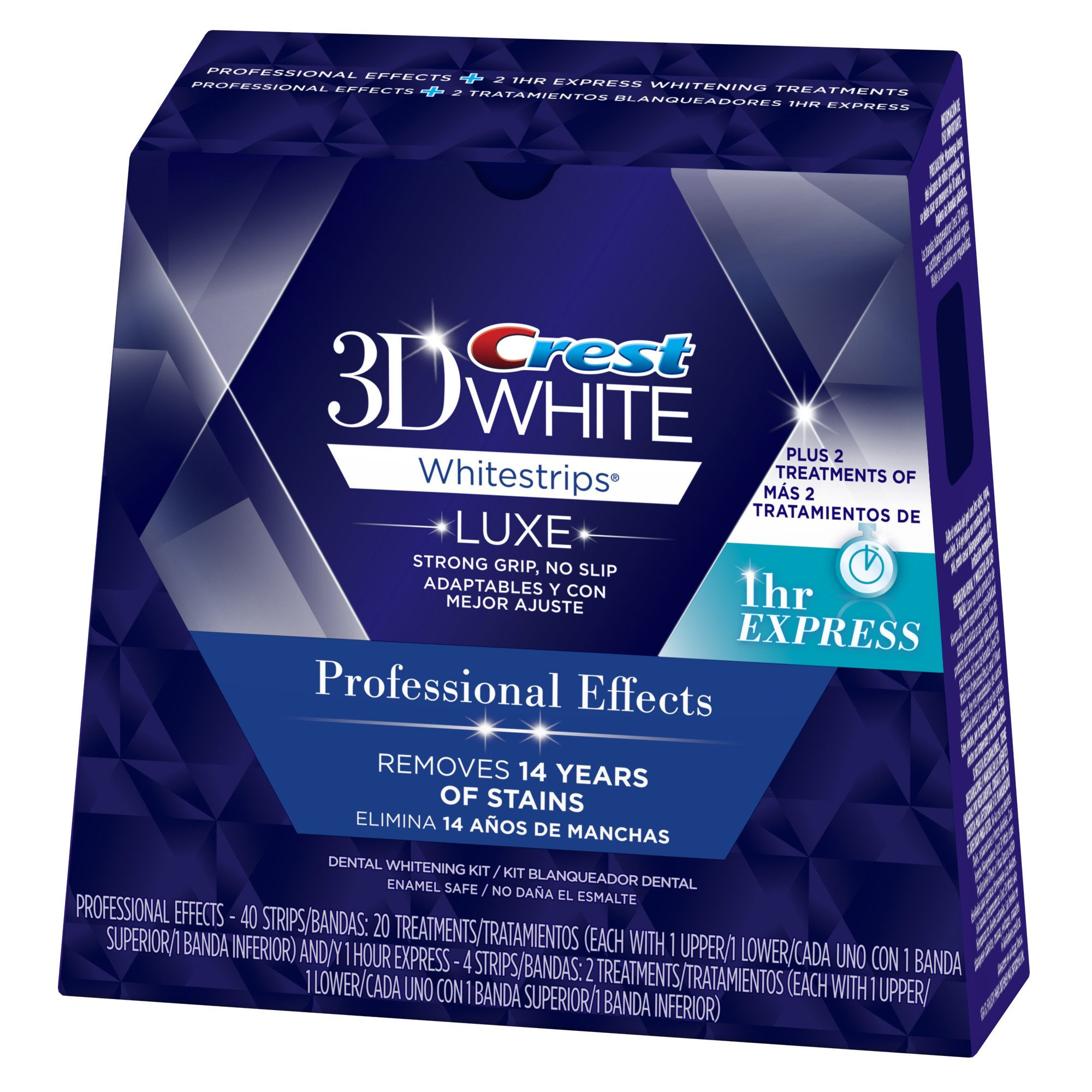 Crest 3D White Professional Effects Whitestrips Teeth Whitening Kit