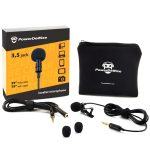 Professional Grade Lavalier Lapel Microphone ¬ Omnidirectional Mic with Easy Clip-On System