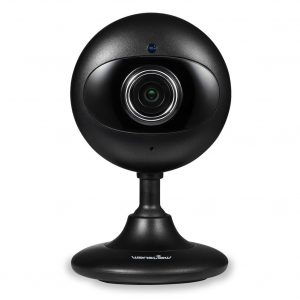 Wansview 720p Wi-Fi Wireless Security IP Camera, for Baby/Pet/Nanny/Elder Monitor with Night Vision K2 (Black)