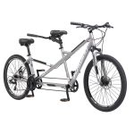"Schwinn Twinn Tandem 20""/ one size Wheel Bicycle, Grey One Frame Size"