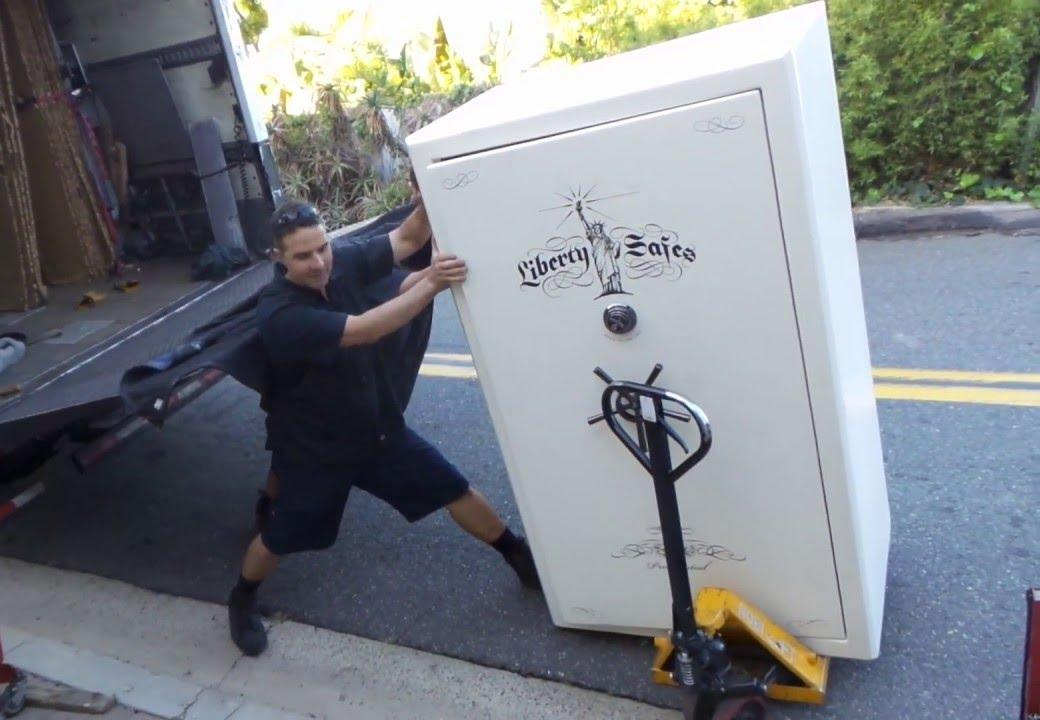 gun safe weight