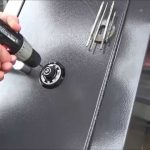 break into a gun safe