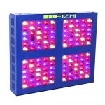 MEIZHI Reflector-Series 600W LED Grow Light Full Spectrum for Indoor Plants Veg and Flower - Dual Growth and Bloom Switch Daisy Chain
