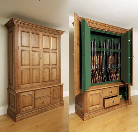built in gun cabinet gun safe vs gun cabinet best of gears 12666